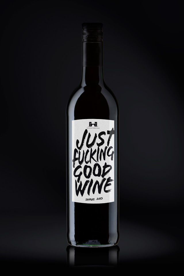 Just F* Good Wine | Design (concept) : Gregoriodesign, Düsseldorf, Allemagne (Octobre 2014)