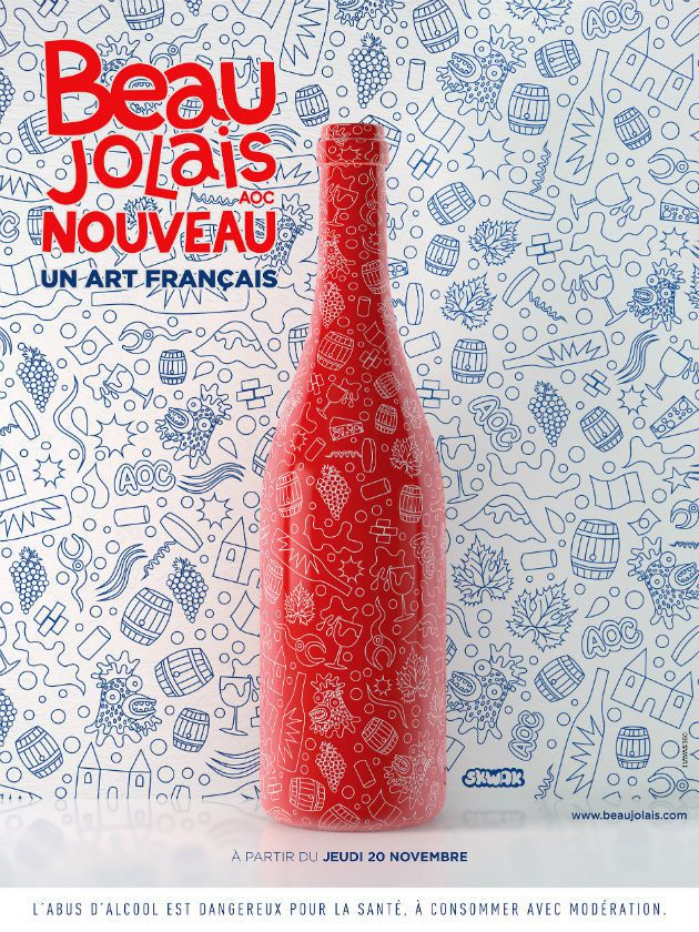 Le Beaujolais Nouveau, un art français | Skwak et Havas 360° pour l'Inter Beaujolais (Beaujolais nouveau 2014)