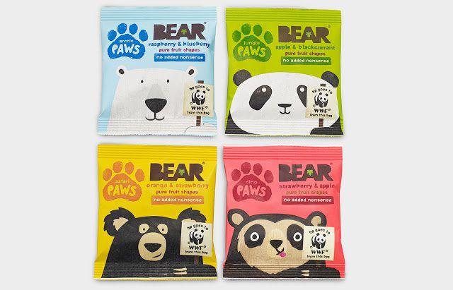 """Save our paws"" | Design : B&B, Royaume-Uni, pour BEAR x WWF (octobre 2014)"