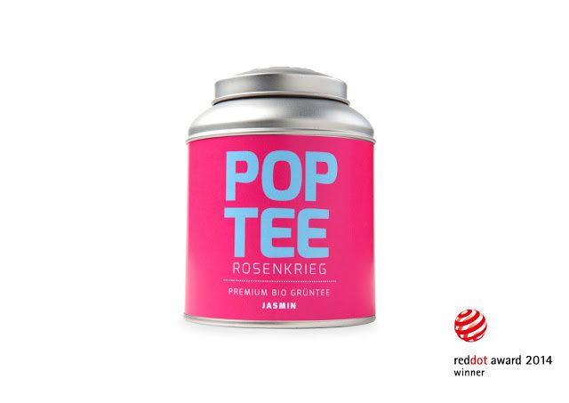 Pop Tee - Do your thing ! (thé) | Design : Agentur CLUBCREATIV, Brême, Allemagne (décembre 2014)