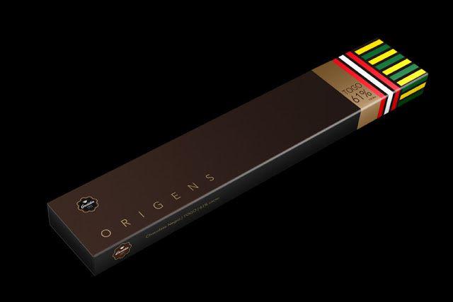 Origens (chocolat) | Design : António Queirós Design, Porto, Portugal (janvier 2015)