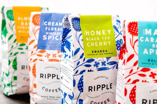Ripple Coffee (café) | Design : Design Womb, Bexley, Ohio, Etats-Unis (janvier 2015)