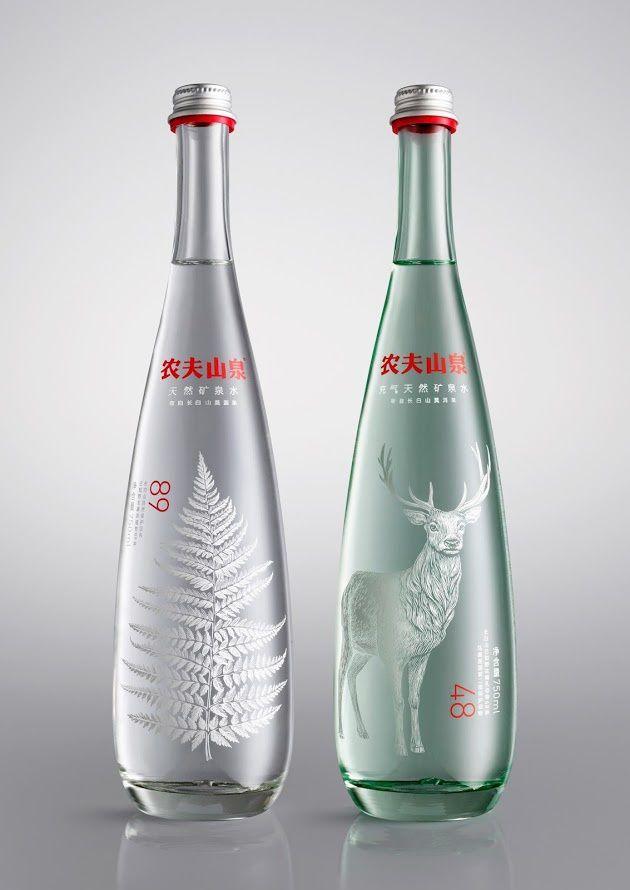 Nongfu Spring (eau minérale premium) | Design : Horse, Royaume-Uni (février 2015)