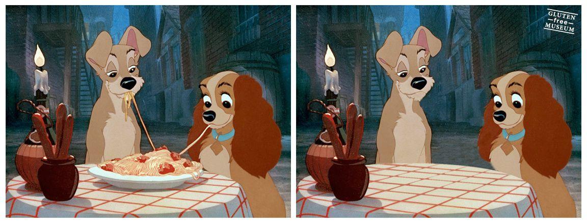 La belle et le clochard, d'après Disney