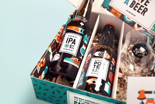 You Rock ! (coffret anniversaire pour une marque de bière) | Design : Patswerk, La Hague, Pays-Bas (mars 2015)