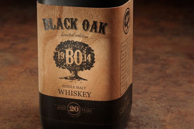Black Oak (whisky) | Concept : Moon Troops, Kaunas, Lituanie (mars 2015)