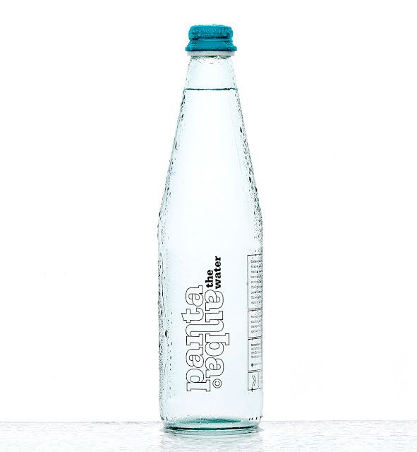 Pantaaqua (eau minérale naturelle) | Design : kissmiklos, Mosonmagyaróvár, Hongrie (mars 2015)