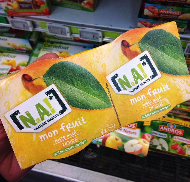 Mon fruit juste mixé | N.A! (Nature addicts)