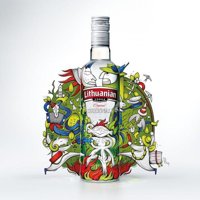 Lithuanian Vodka (édition limitée) | Design : Studio Libre, Vilnius, Lituanie (avril 2015)