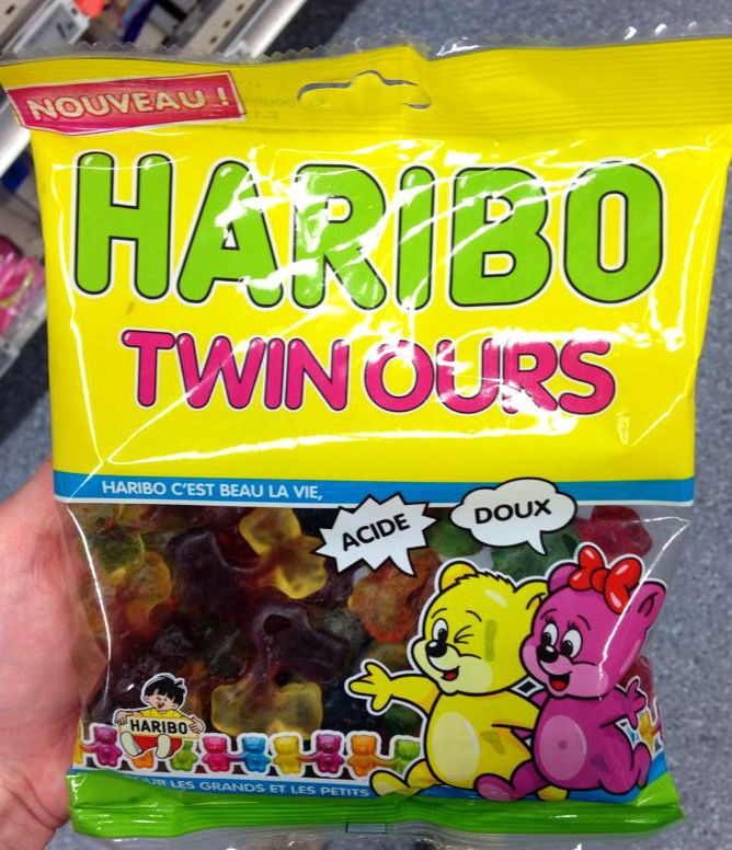 Bonbons Twin Ours | Haribo