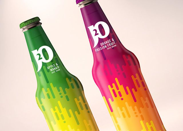 J20 (jus de fruits) | Design (concept) : Leah Jacobs-Gordon, Londres, Royaume-Uni (mai 2015)