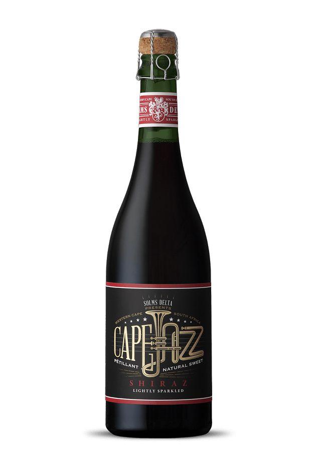 Cape Jazz Shiraz (vin) | Design : Fanakalo, Stellenbosch, Afrique du Sud (mai 2015)