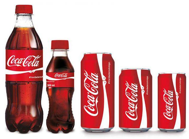 L'union fait la force... du logo Coca-Cola.