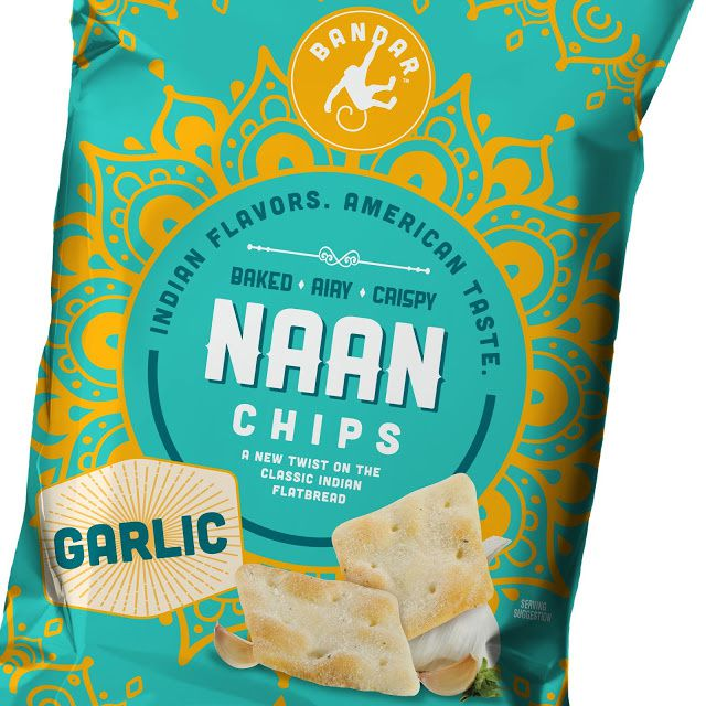 Bandar (chips saveurs indiennes) | Design : Interact, Boulder, CO, Etats-Unis (juin 2015)