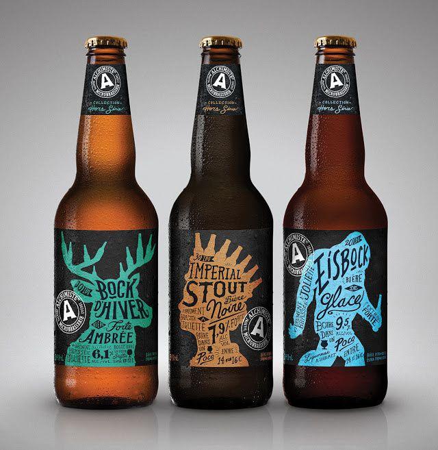 Alchimiste (bière) | Design : Saint- Jacques Vallée Y&R, Montréal, Québec, Canada (juin 2015)