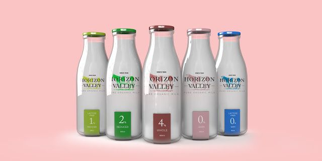 Horizon Valley (lait bio) | Design : Erik from Oz, Angleterre (juin 2015)