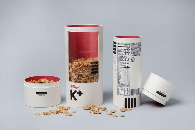 """Etude de """"K"""" packaging : Les véritables céréales pour adultes"""