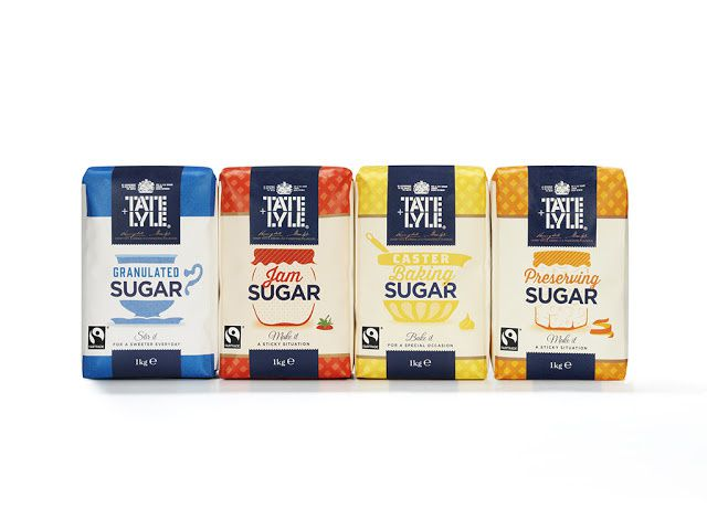 Tate & Lyle's (sucre) | Design : Design Bridge, Londres, Royaume-Uni (juillet 2015)