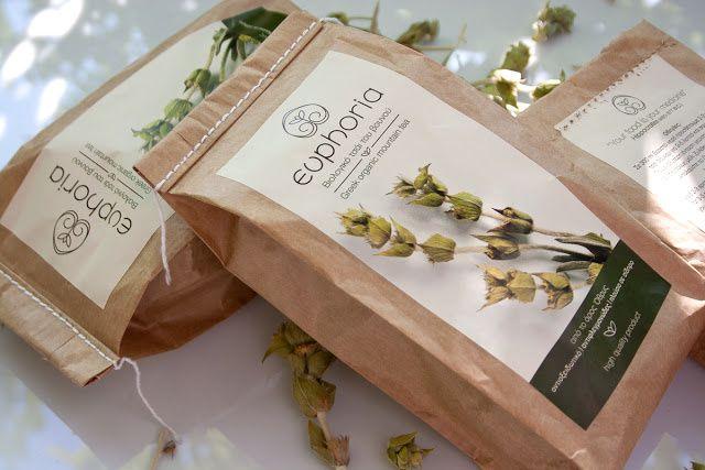 Euphoria Mountain Tea (thé) | Design : Panos Nikolaou, Athènes, Grèce (juillet 2015)