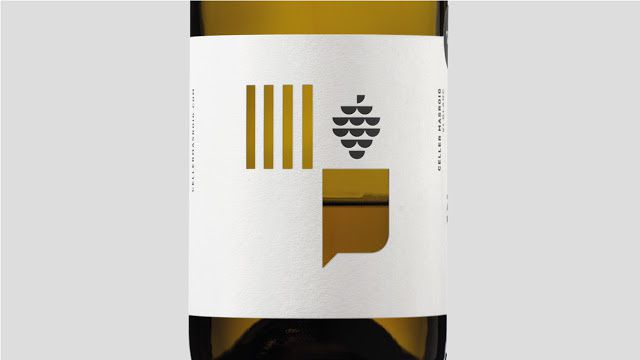 Pinyeres - Cellier Masroig (vins espagnols) | Design : Atipus, Barcelone, Espagne (juillet 2015)