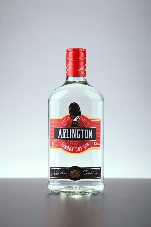 Arlington (gin) | Design : 43'oz, Moldavie (juillet 2015)