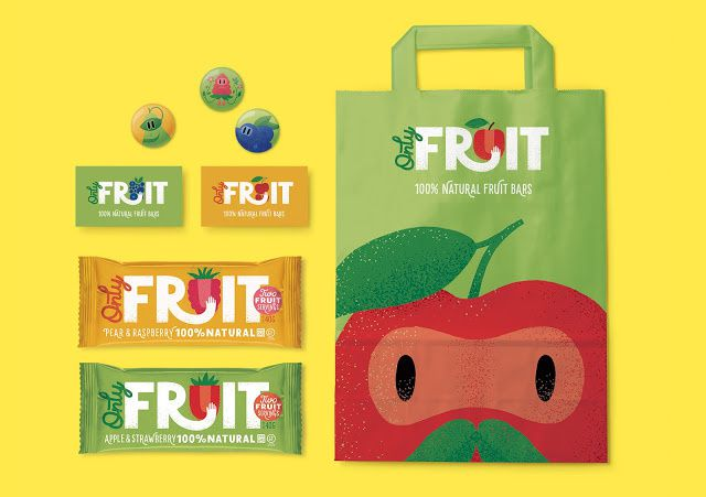 Only Fruit (snacks 100% fruits) | Concept : Maria Mordvintseva-Keeler, Los Angeles, Etats-Unis (juillet 2015)