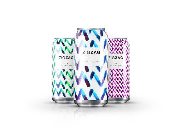 ZIGZAG (boisson énergétique) | Design : Jawad Qumsieh, Noor Oran, Amman, Jordanie (août 2015)
