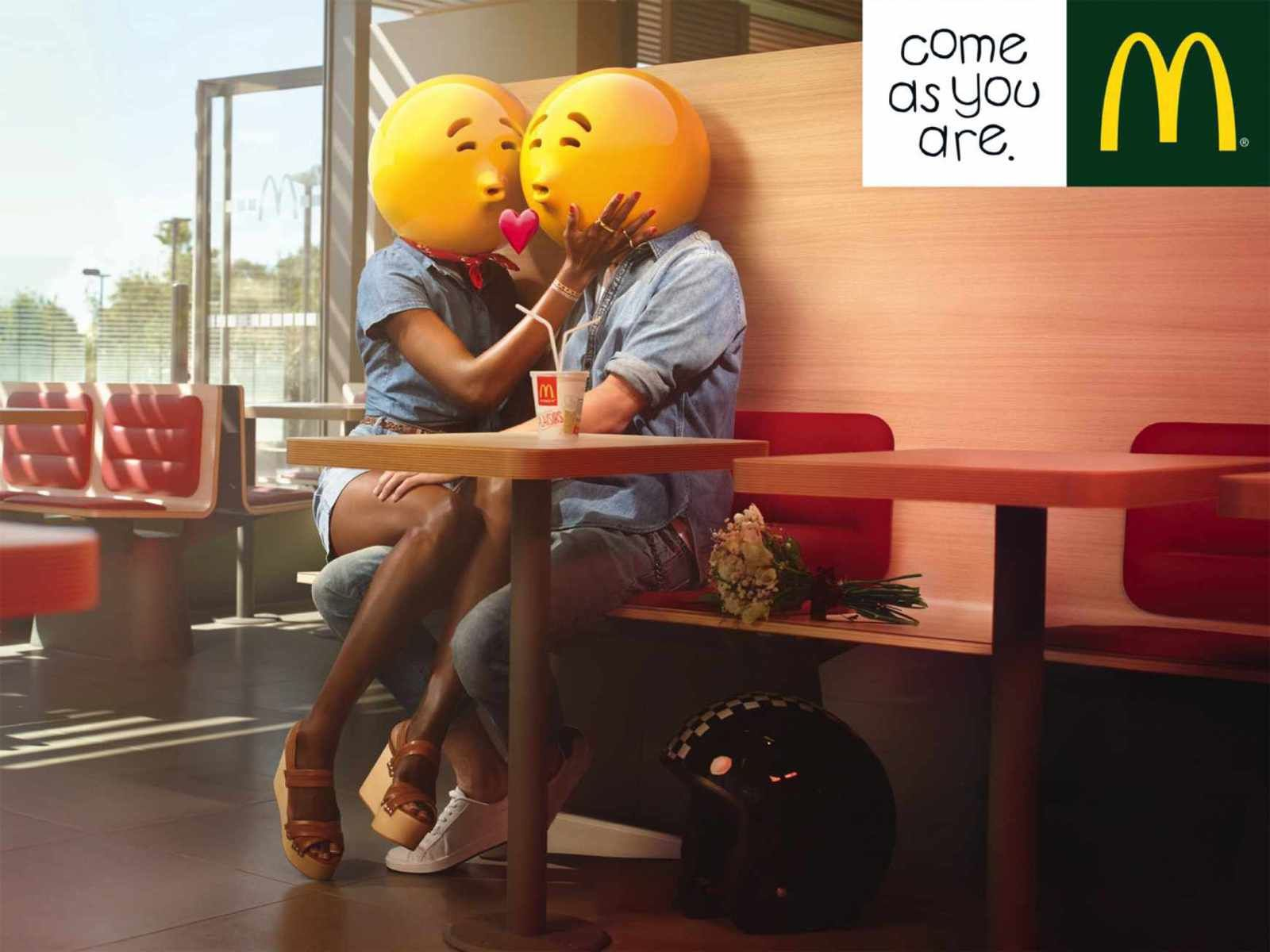 """Come as you are"" 