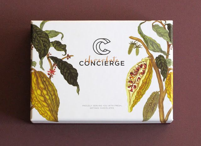 Chocolate Concierge (chocolat) | Design : Anagraphic, Kulala Lumpur, Malaisie (septembre 2015)