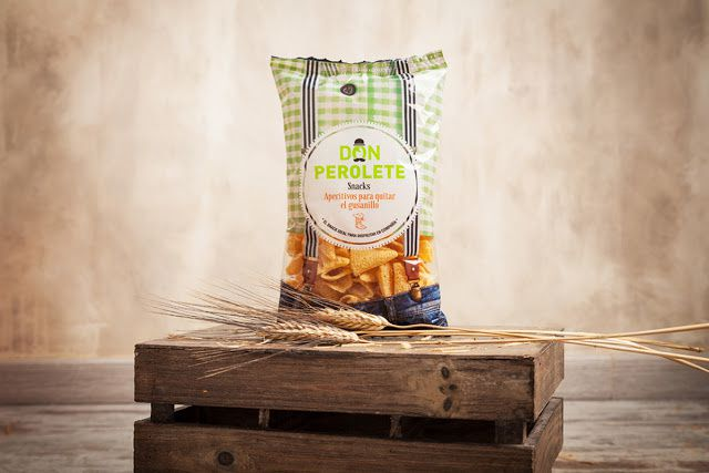 Don Perolete (chips apéritives) | Design : Salvartes Design, Espagne (octobre 2015)