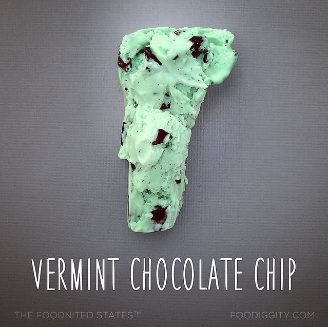 "Vermont | ""The Foodnited States of America"" par Foodiggity"