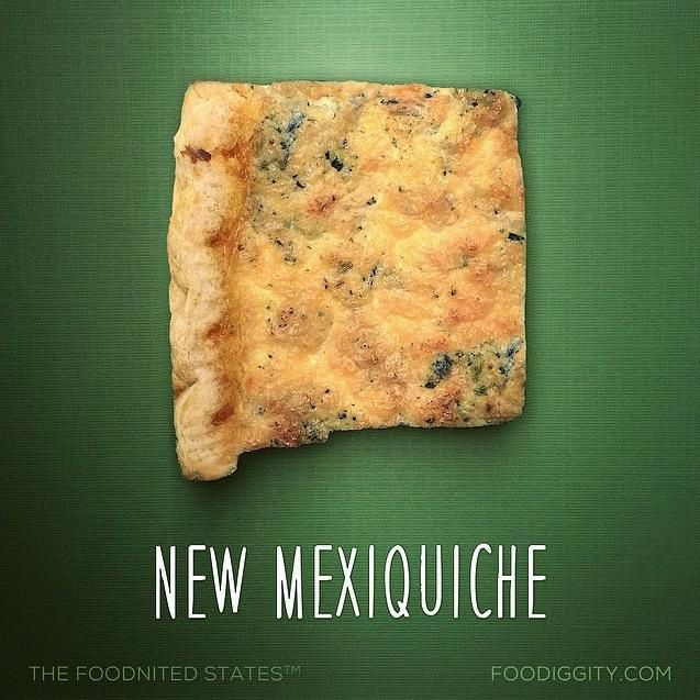 "New Mexico | ""The Foodnited States of America"" par Foodiggity"