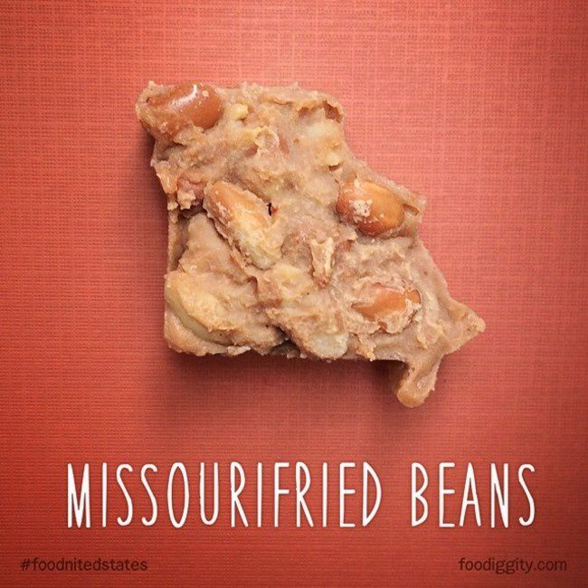 "Missouri | ""The Foodnited States of America"" par Foodiggity"