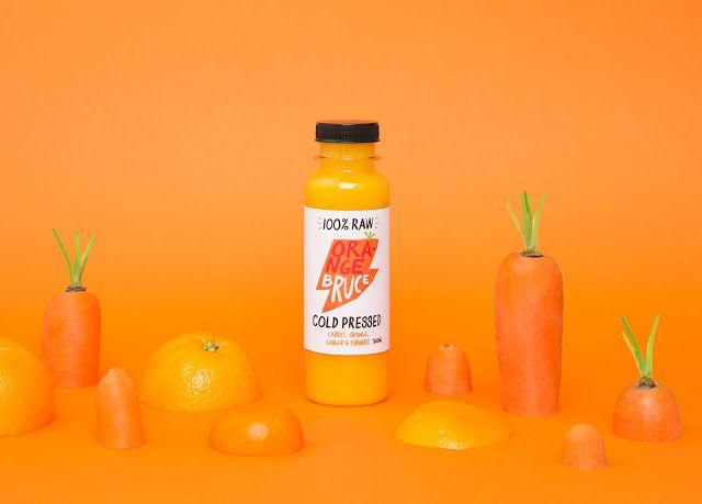 Bruce (jus de fruits) | Design : Marx Design, Australie (octobre 2015)