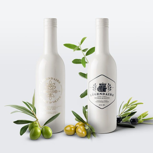 Légendaire (huile d'olive) | Design (concept) : Karoly Kiralyfalvi, Budapest, Hongrie (octobre 2015)