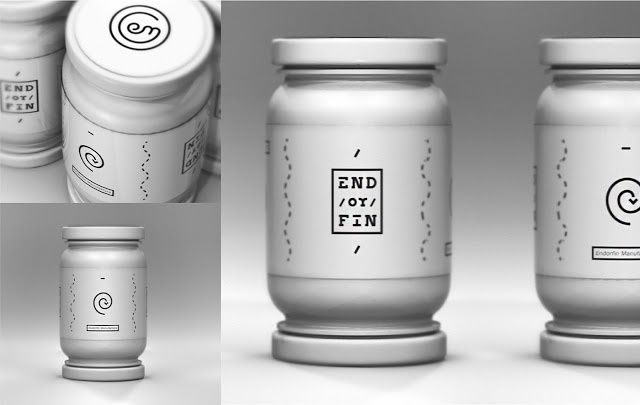 End / or / Fin (confiture, marmelade) | Design : KJG Design, Hongrie (octobre 2015)