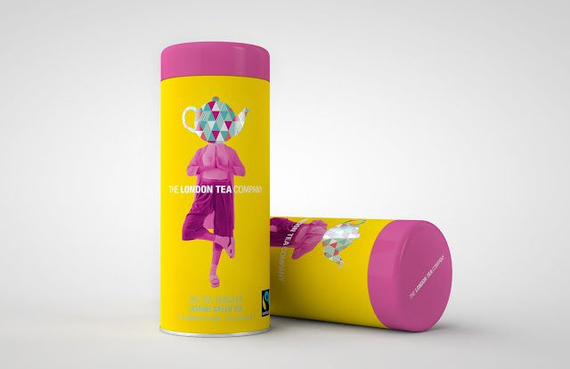 The London Tea Company (thé) | Design : D.Studio, Londres, Royaume-Uni (novembre 2015)