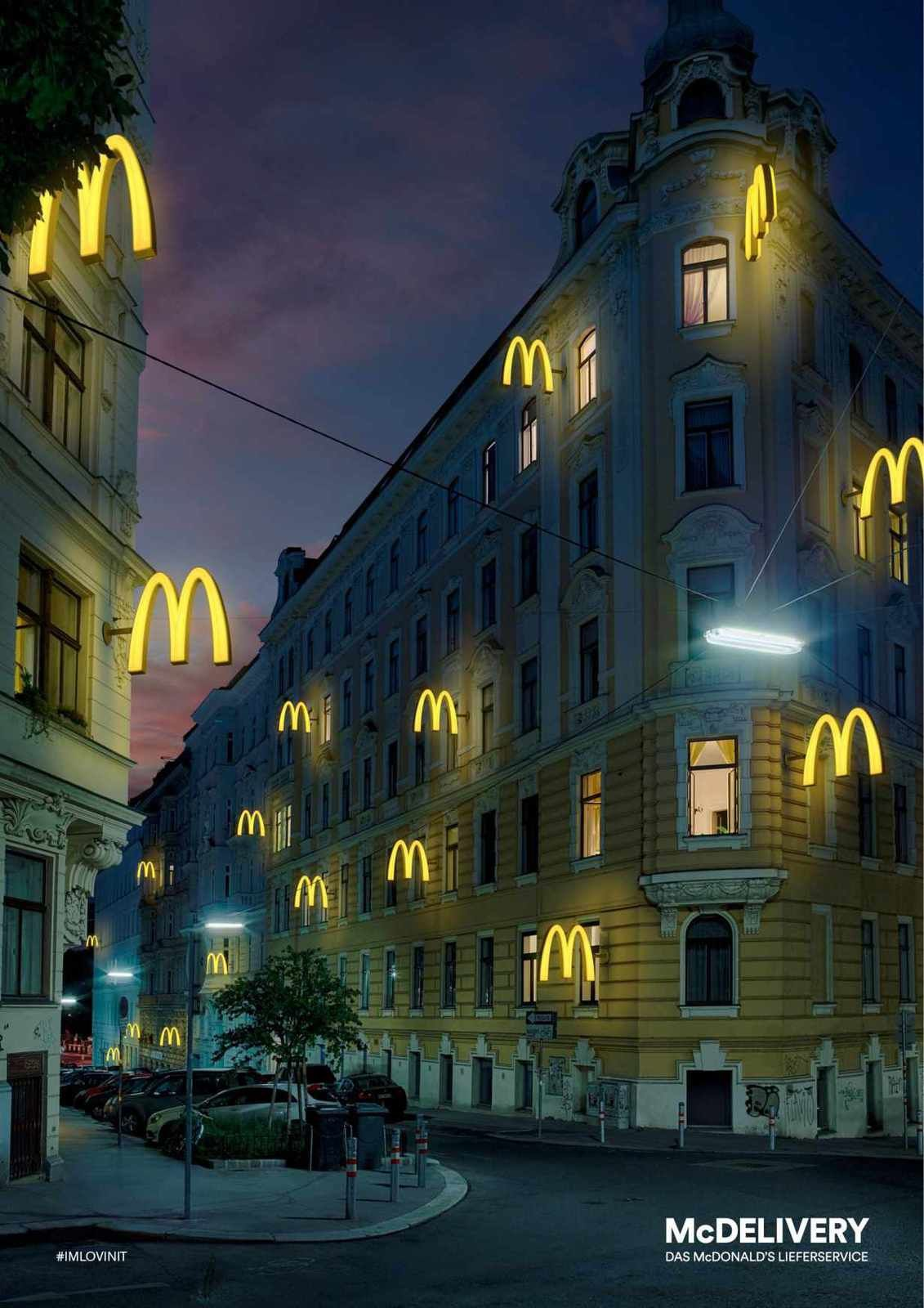 McDelivery (McDonald's) | Agence : DDB, Vienne, Autriche (octobre 2015)