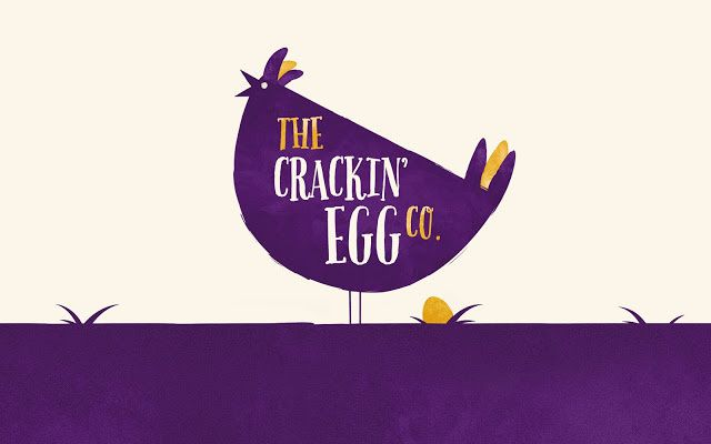 The Crackin' Egg Co. (œufs durs) | Design : Robot Food, Leeds, Royaume-Uni (décembre 2015)