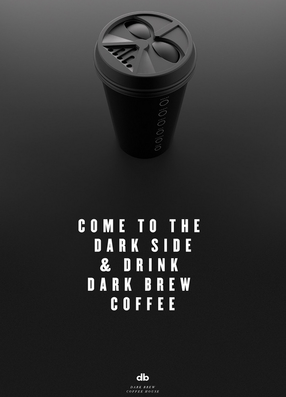 """Dark Brew Coffee House"" : A coffee house with a dark side 