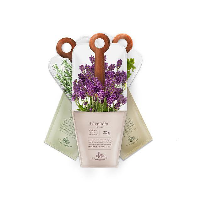 Spices (herbes aromatiques) | Design : Urszula Krasny, Cracovie, Pologne (janvier 2016)