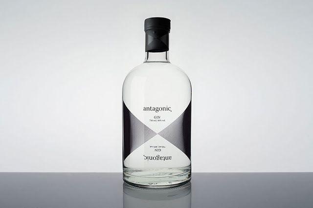 """Antagonic"" - Cartavio Rum Company (gin) | Design : Studio A - Interbrand, Lima, Pérou (janvier 2016)"