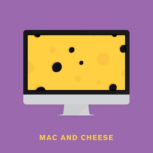 """Mac and cheese"" - © punnypixels"