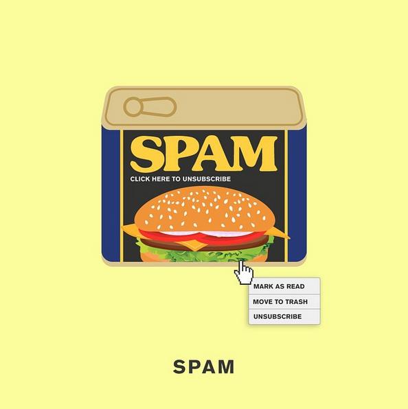 """SPAM"" - © punnypixels"