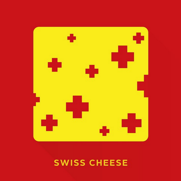 """Swiss cheese"" - © punnypixels"