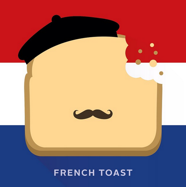 """French toast"" - © punnypixels"