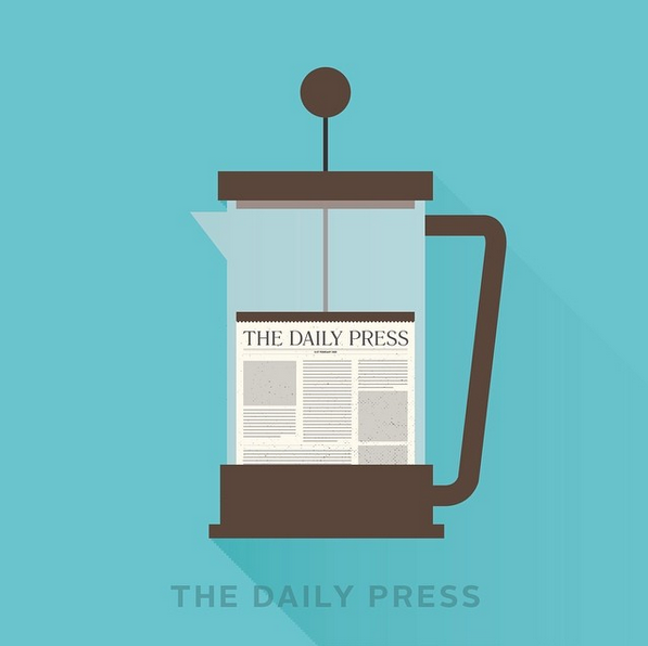 """The daily press"" - © punnypixels"