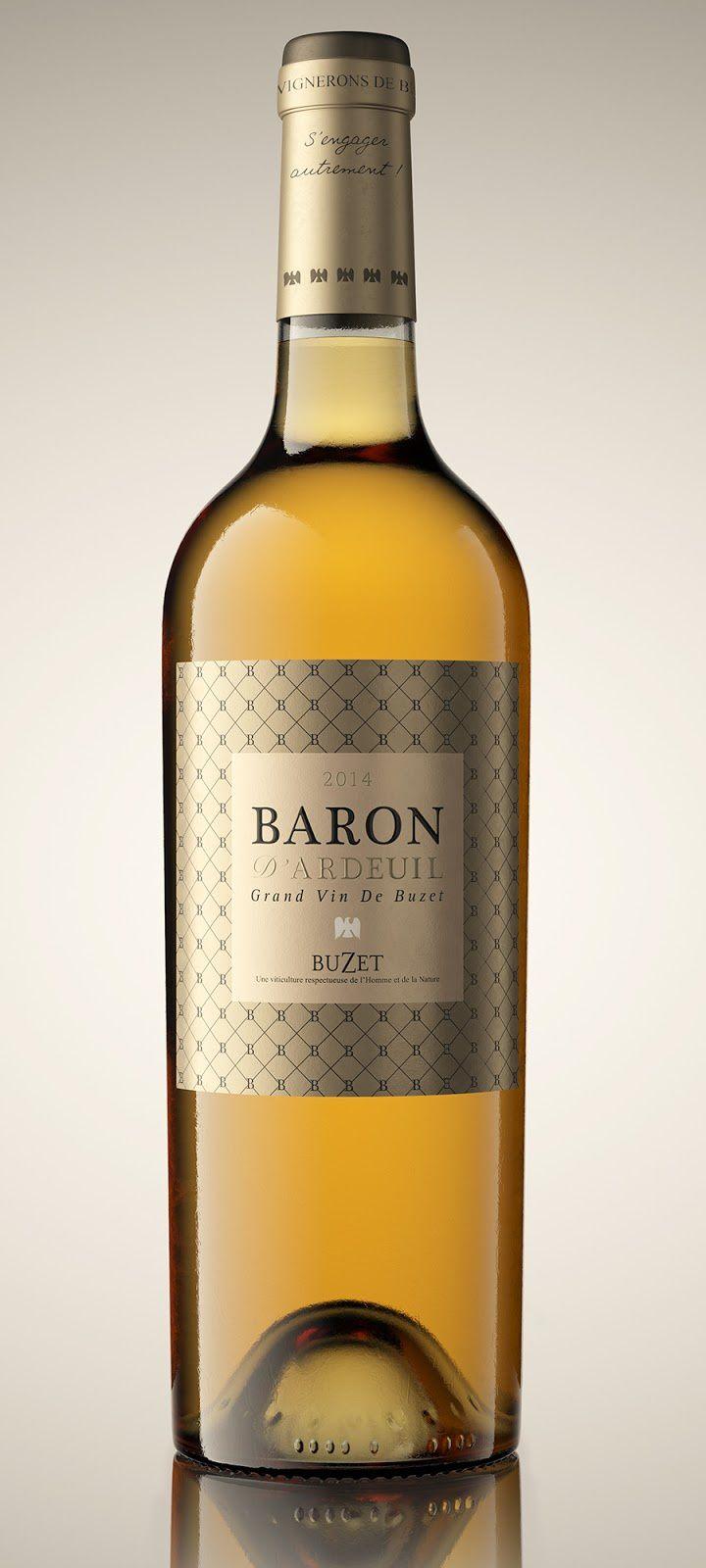 Baron d'Ardeuil - Vignerons de Buzet (vin) | Design : Lasuite Atelier, Bordeaux, France (février 2016)
