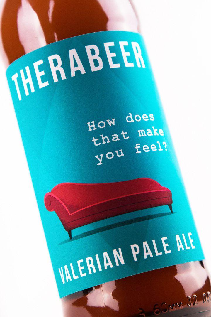 Therabeer (bière) | Design (concept) : Unblvbl, Nizhny Novgorod, Russia (février 2016)