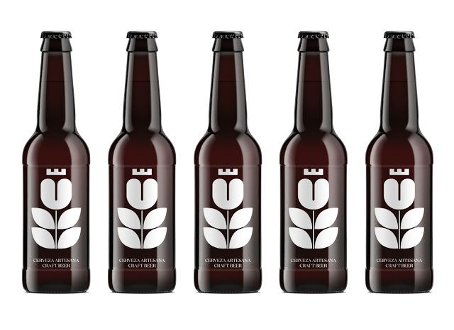"""U"" - Última Frontera Craft Beer (bière) | Design : RSC Estudio, Espagne (février 2016)"